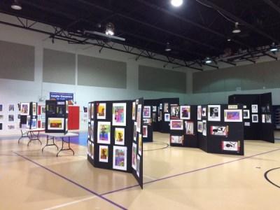 Art Festival Tri-fold Display
