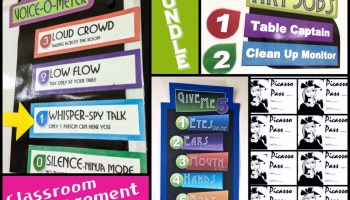 Voice-o-Meter Art Room Volume Control - Create Art with ME