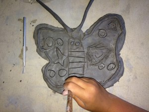 Ceramic Butterfly Bowls