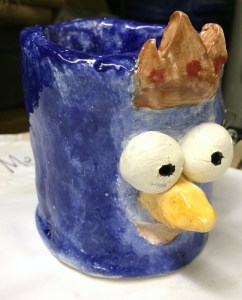Funny Face Mugs Clay Project Create Art with ME