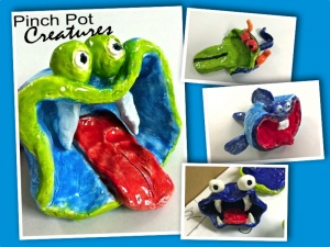 Pinch Pot Creatures