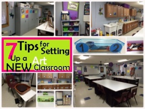 Tips for new art classroom