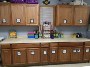 Art Classroom Layout Organization