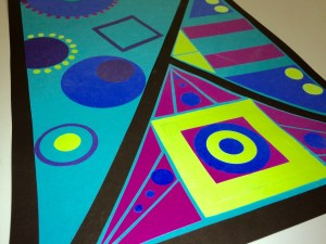 Types of Balance Cut Paper Collage