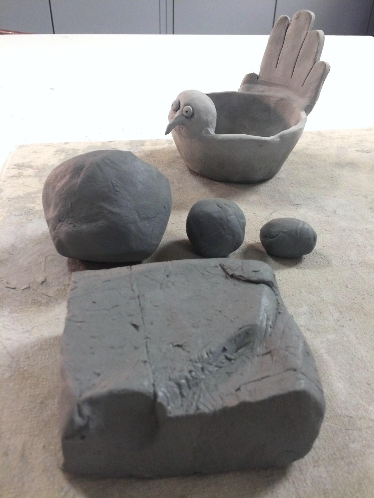 Ceramic Turkey And Hand Print Pinch Pot Lesson Create