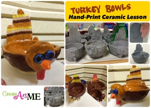 Turkey bowl Ceramic Lesson