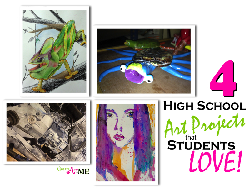 High School Art Projects That Students Love Create Art With Me