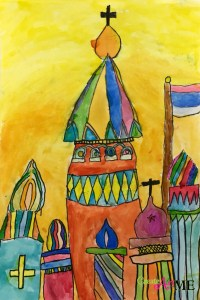 St basils cathedral architecture art lesson