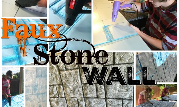 Faux Stone Wall Insullation foam