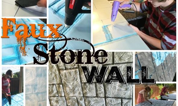 Faux Stone Wall Insullation foam