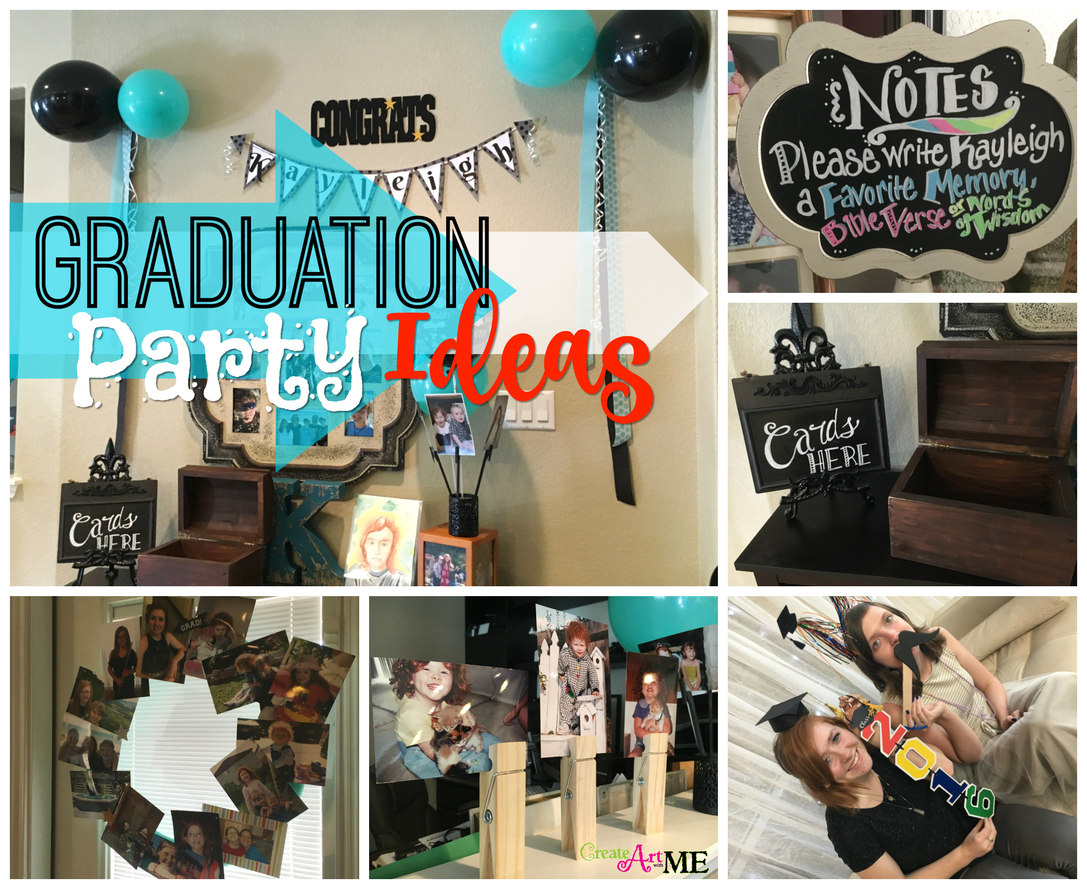 Graduation Party Ideas Create Art with ME