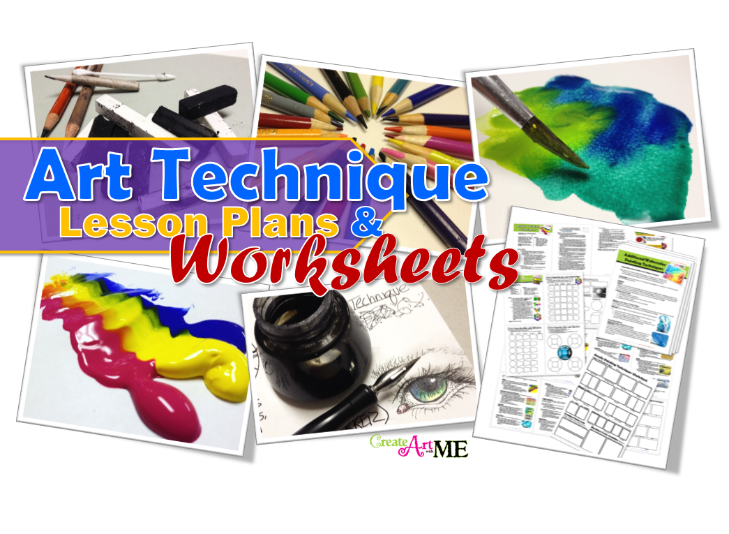 art-techniques Lesson Plans and Worksheets