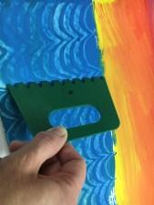 Eric Carle Painted Paper Sailboat art lesson