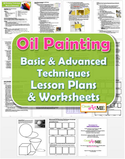 Oil Painting Techniques Lesson Plans & Worksheets