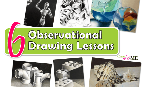 6 Observational Drawing Skills Art Lessons