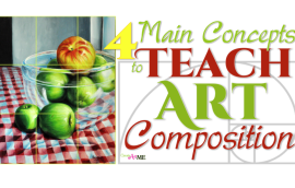 Teach Art Composition Lesson
