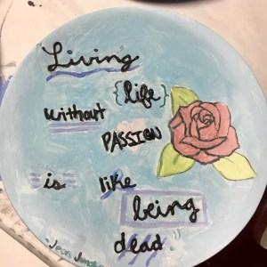 Bowls plates of love empty bowls The artful act of giving