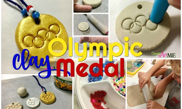 Olympic Medal Craft Air Dry Clay