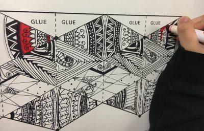 image relating to Flextangle Printable identify Flextangle STEAM Artwork Undertaking - Generate Artwork with ME