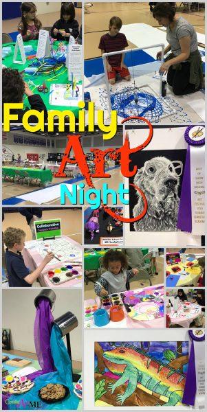 Art Festival Family Art Night
