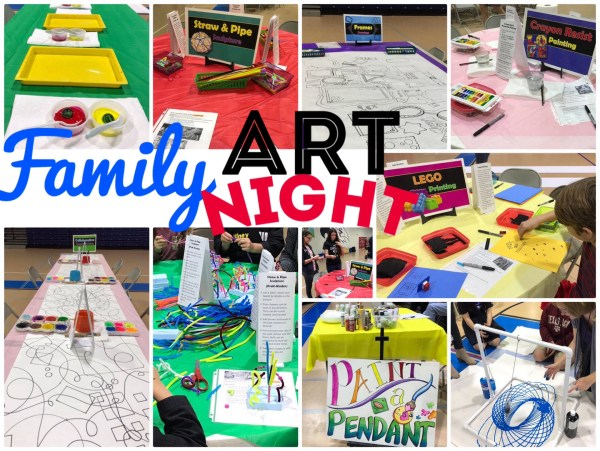 Family Art Night