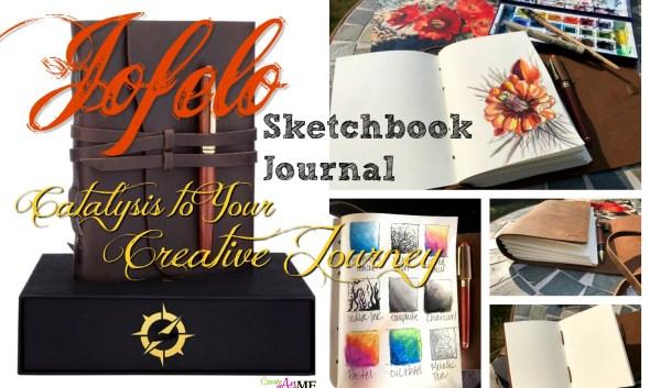 Jofelo Sketchbook Journal Handmade leather