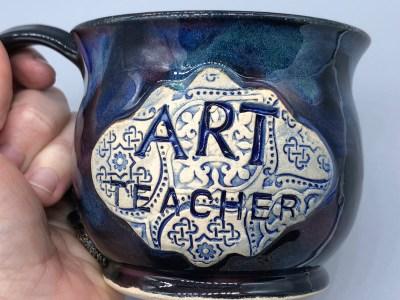 Art Teacher Mug Handmade