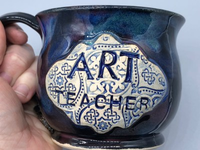 Art Teacher Mug Handmade