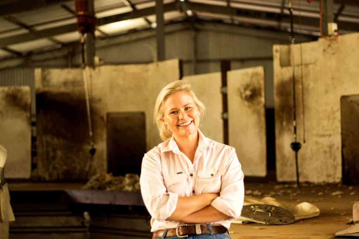 Airlie Trescowthick talking with Create Business about the Farm Table and working with a remote team
