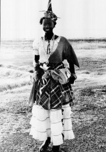 Young Lady in Jip Costume