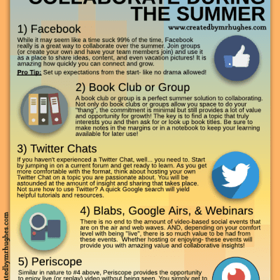 5 Ways to Collaborate During the Summer