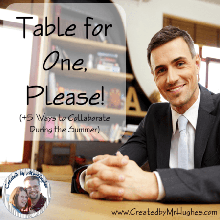 Blog Post- Table for One Please Picture