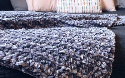 Free Crochet Pattern: The Velvet Throw Blanket