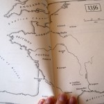 Map in book 1356
