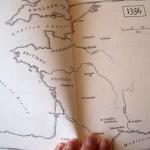 Map in book 1356