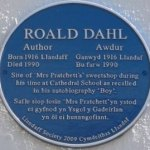 Roald Dahl born in Cardiff