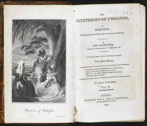 book - mysteries of udolpho