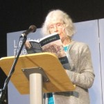 Fleur Adcock reading poetry