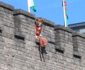 Fantastic Mr Fox on Cardiff Castle