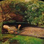 Ophelia, painted by John Everett Millais