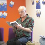 Patrick McGuiness at the Cardiff Book Festival