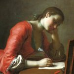 'Young_Girl_Writing_a_Love_Letter'_by_Pietro_Antonio_Rotari,_Norton_Simon_Museum