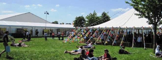 hay festival sunshine
