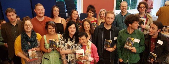 Some of the Terry Hetherington award winners