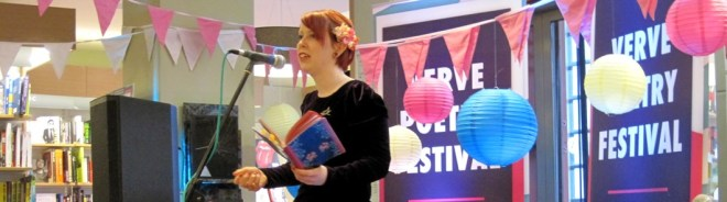 Jane Commane reading from her collection Assembly Lines