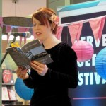 Jane Commane launch at Verve Poetry Festival