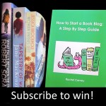 giveaway how to start a book blog