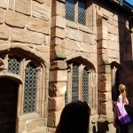 Chetham's Library courtyard