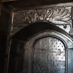 Door at Chetham's Library