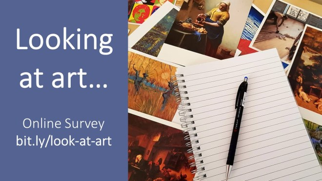 looking at art online survey